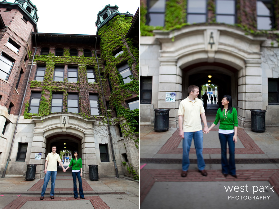 seto esession1 Jessica & Matt at U of M |  Ann Arbor Engagement Session