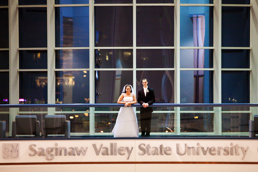 florence wed17 Rachel & James:  Saginaw Valley State Wedding