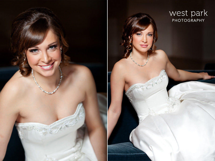 2 Detroit Bridal Session at the Westin Book Cadillac
