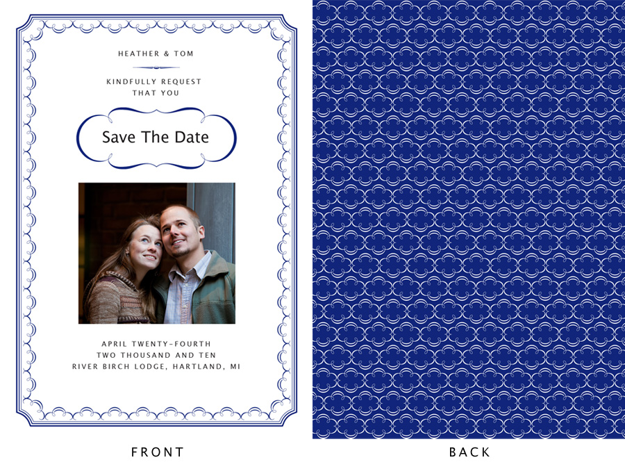 Heather std sample Save The Dates Ideas
