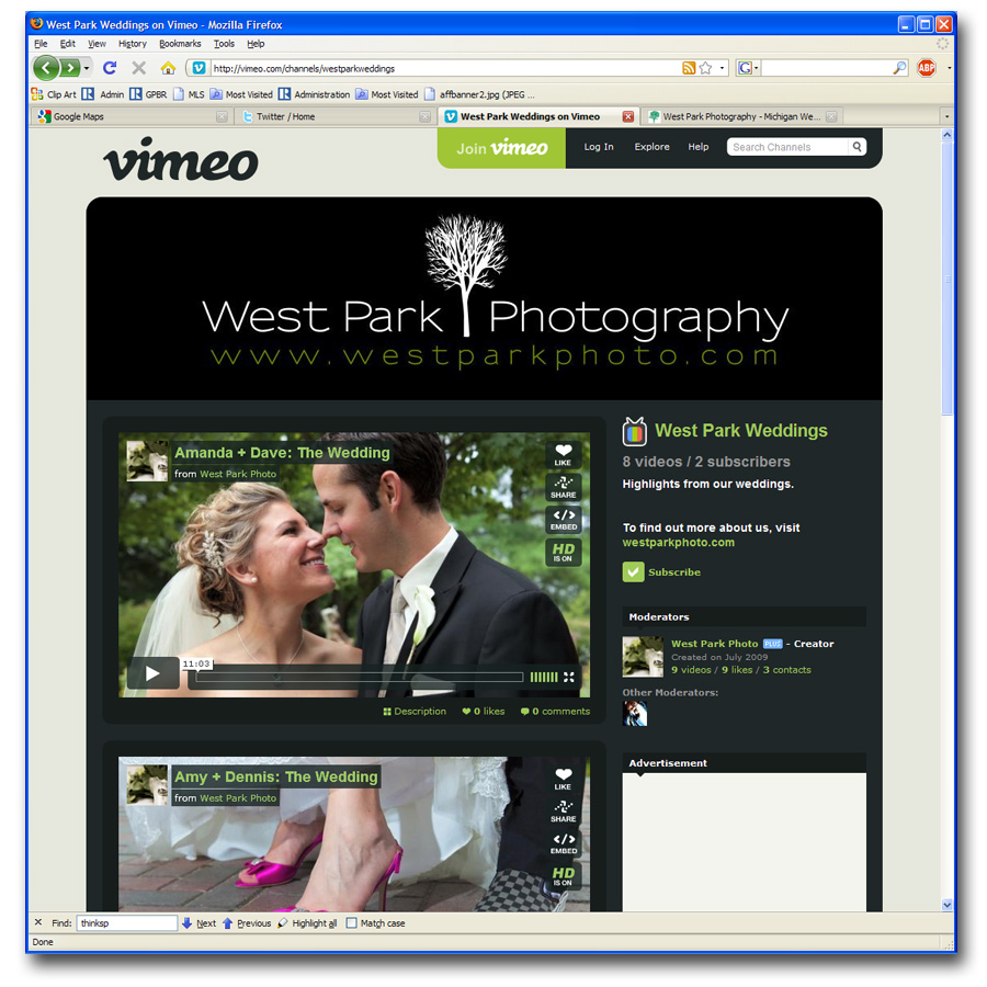 wpp vimeo Our Vimeo Channel