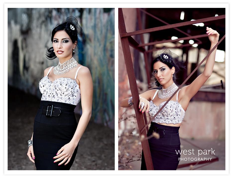 Dequindre Cut BridalSession 4 Detroit Bridal/Fashion Shoot