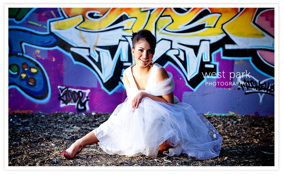 Dequindre Cut BridalSession 5 Detroit Bridal/Fashion Shoot
