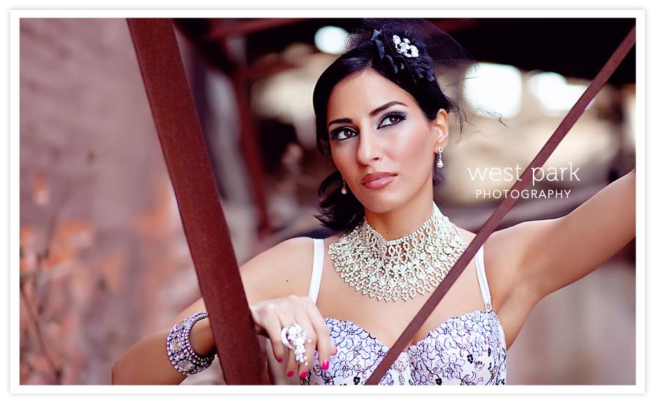 Dequindre Cut BridalSession 7 Detroit Bridal/Fashion Shoot