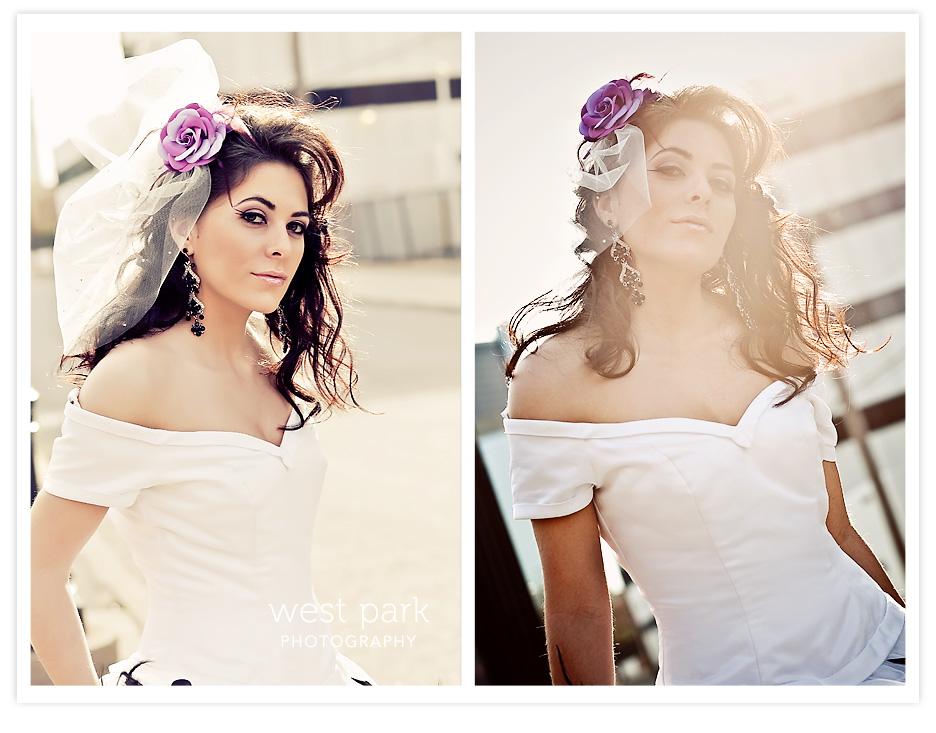Dequindre Cut BridalSession 8 Detroit Bridal/Fashion Shoot
