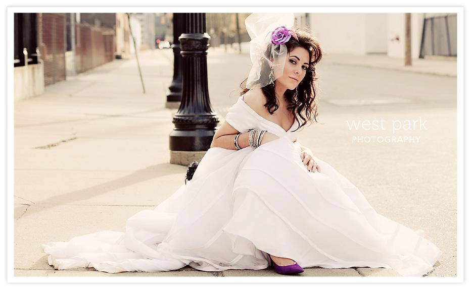 Dequindre Cut BridalSession 9 Detroit Bridal/Fashion Shoot