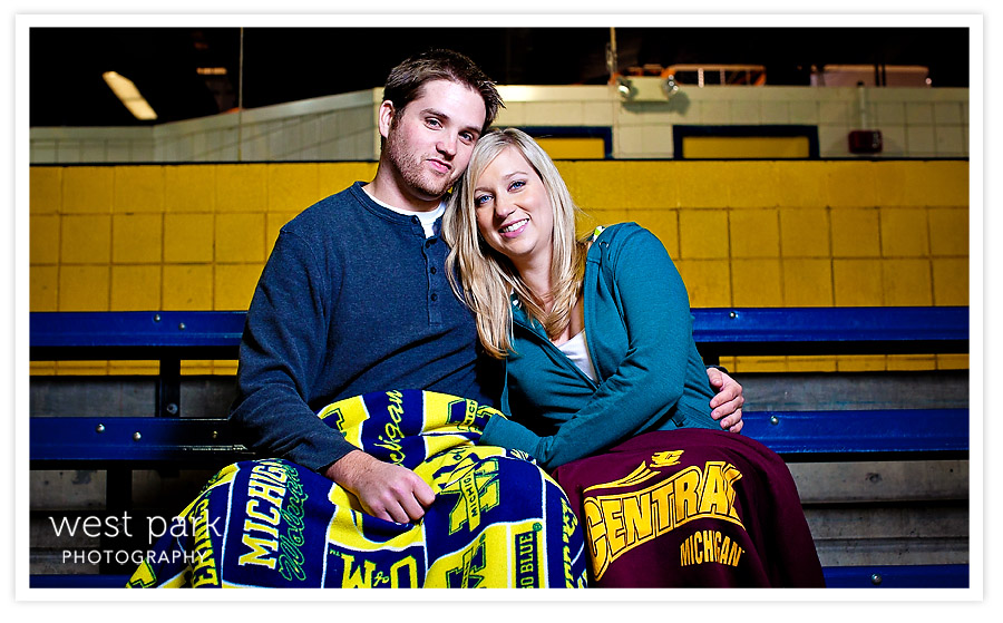 DearbornIceArena EngagementSession 03 Hayley + Joels Engagement Session