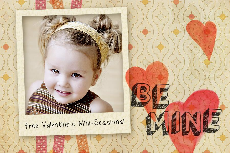 Valentine's Portrait Promo