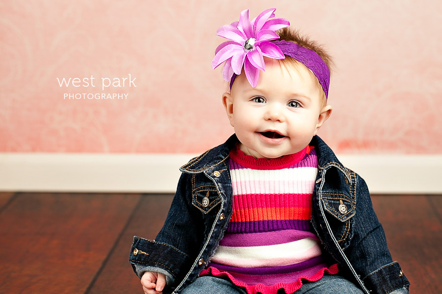 detroit baby photographer 01 Avas 7 month   Portrait