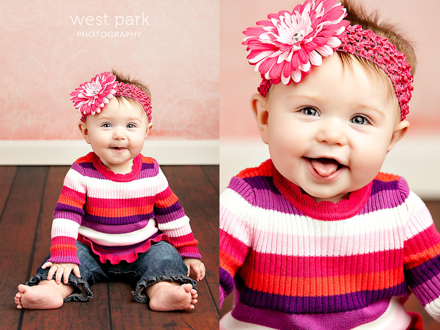 detroit baby photographer 02 Avas 7 month   Portrait