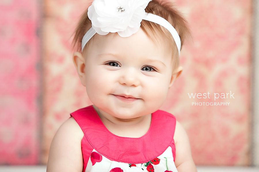 detroit baby photographer 06 Avas 7 month   Portrait