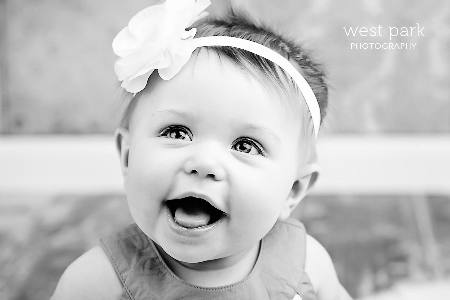 detroit baby photographer 07 Avas 7 month   Portrait