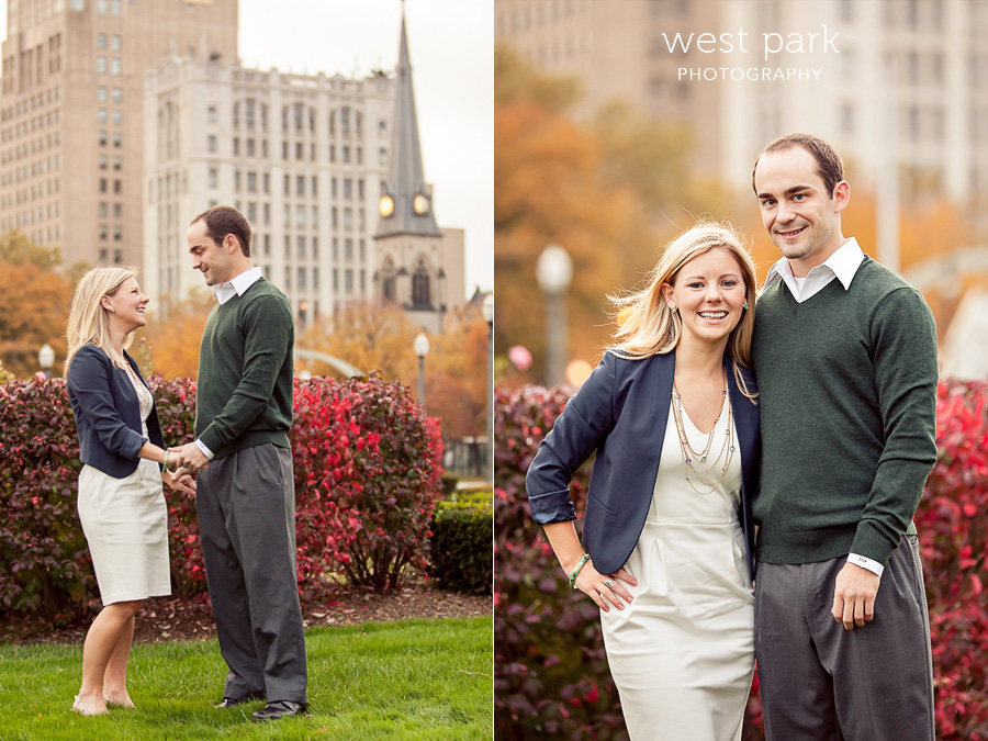 detroit engagement 02 Liz & Daves Detroit Engagement Session