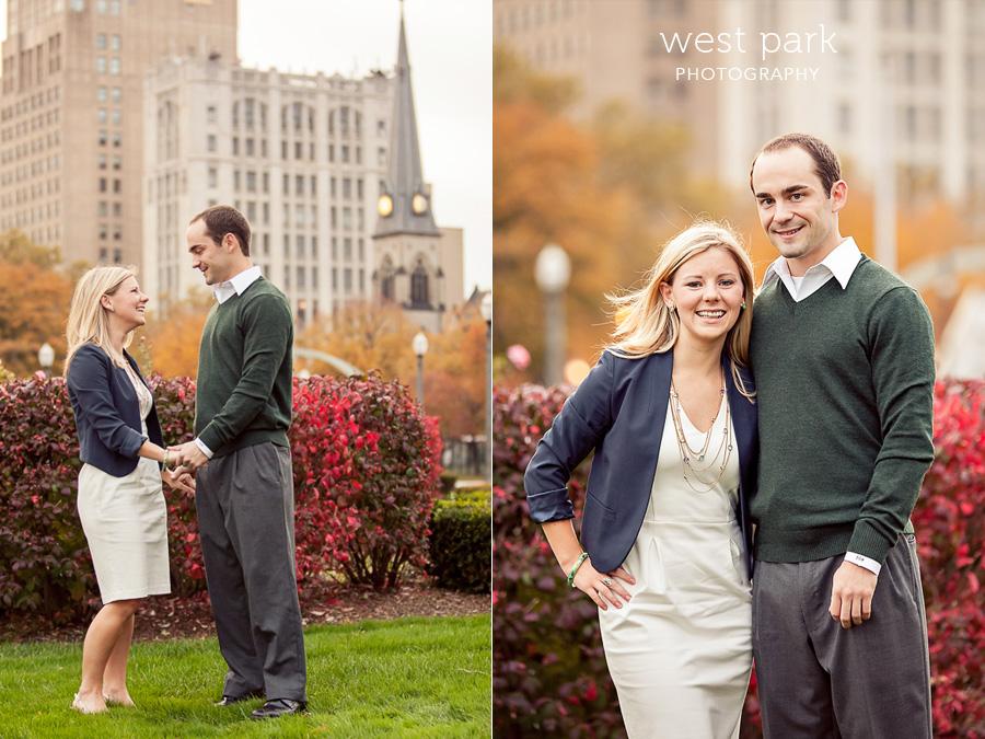 detroit engagement 02 Liz & Daves Detroit Engagement Session