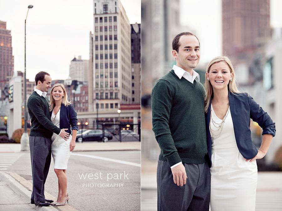 detroit engagement 04 Liz & Daves Detroit Engagement Session