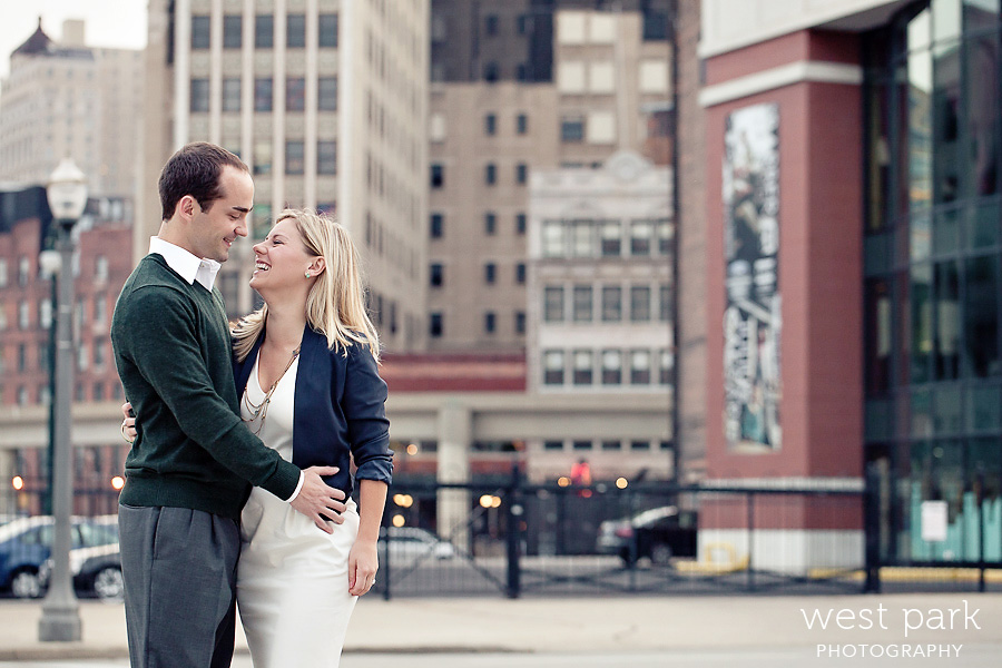 detroit engagement 05 Liz & Daves Detroit Engagement Session