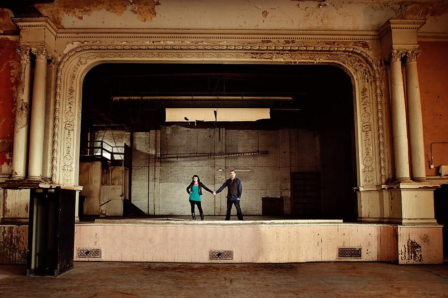 Liz & Nick - Detroit Engagement Session