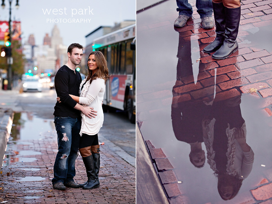 detroit garden bowl engagement 12 Barbara & Bens Garden Bowl Engagement Session