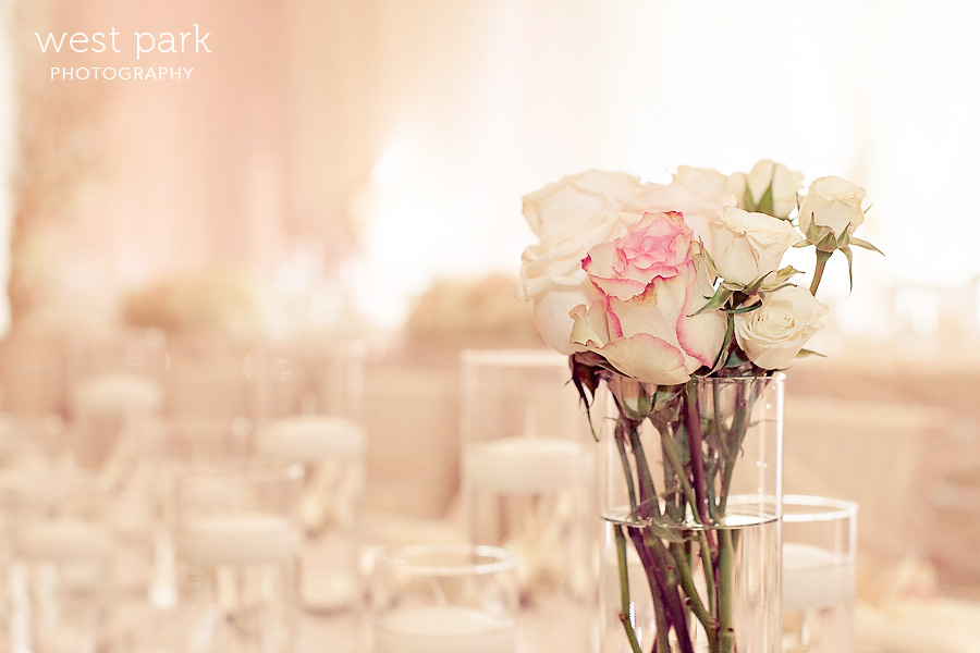 elegant pink detroit wedding reception 04 Pink & Gold Wedding Inspiration