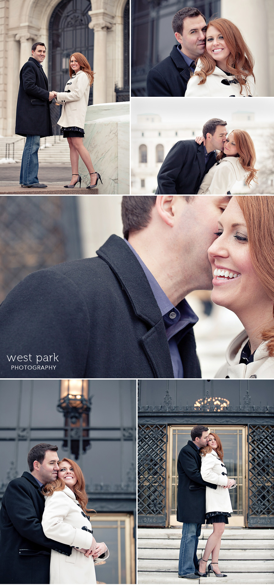 detroit winter engagement photo 01 Shannon & Davids Engagement Session