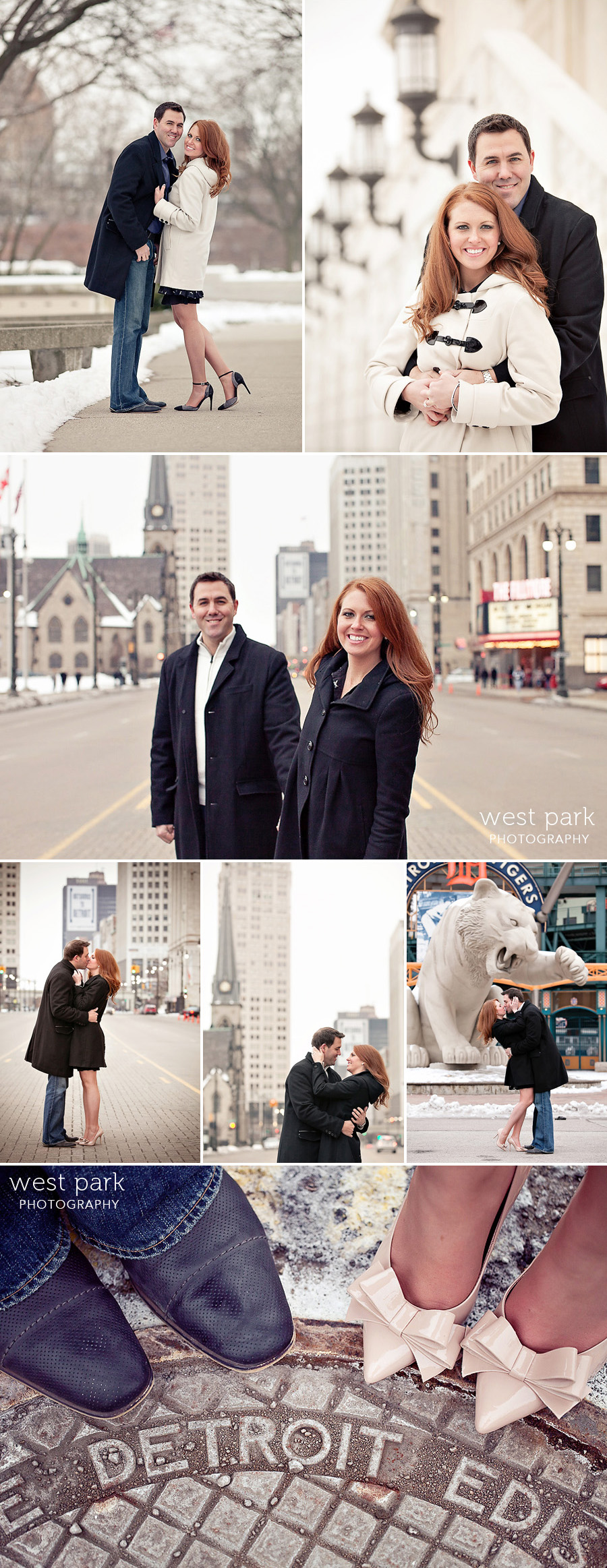 detroit winter engagement photo 02 Shannon & Davids Engagement Session