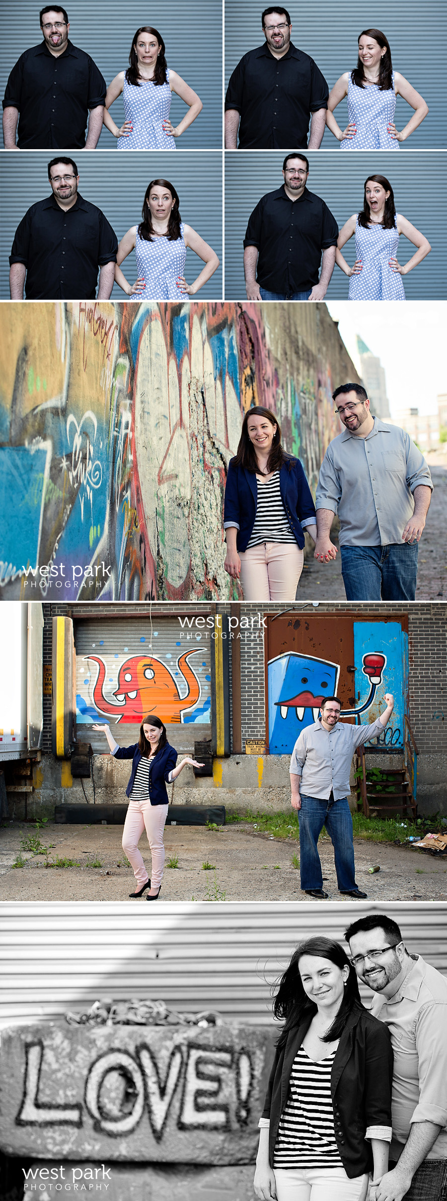 detroit engagement session 03 Stephanie + Nicks Fun Detroit Engagement Session