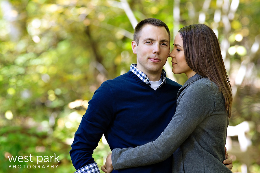 Jennifer + Alex  |  Ann Arbor Engagement Session at Nichols Arboretum